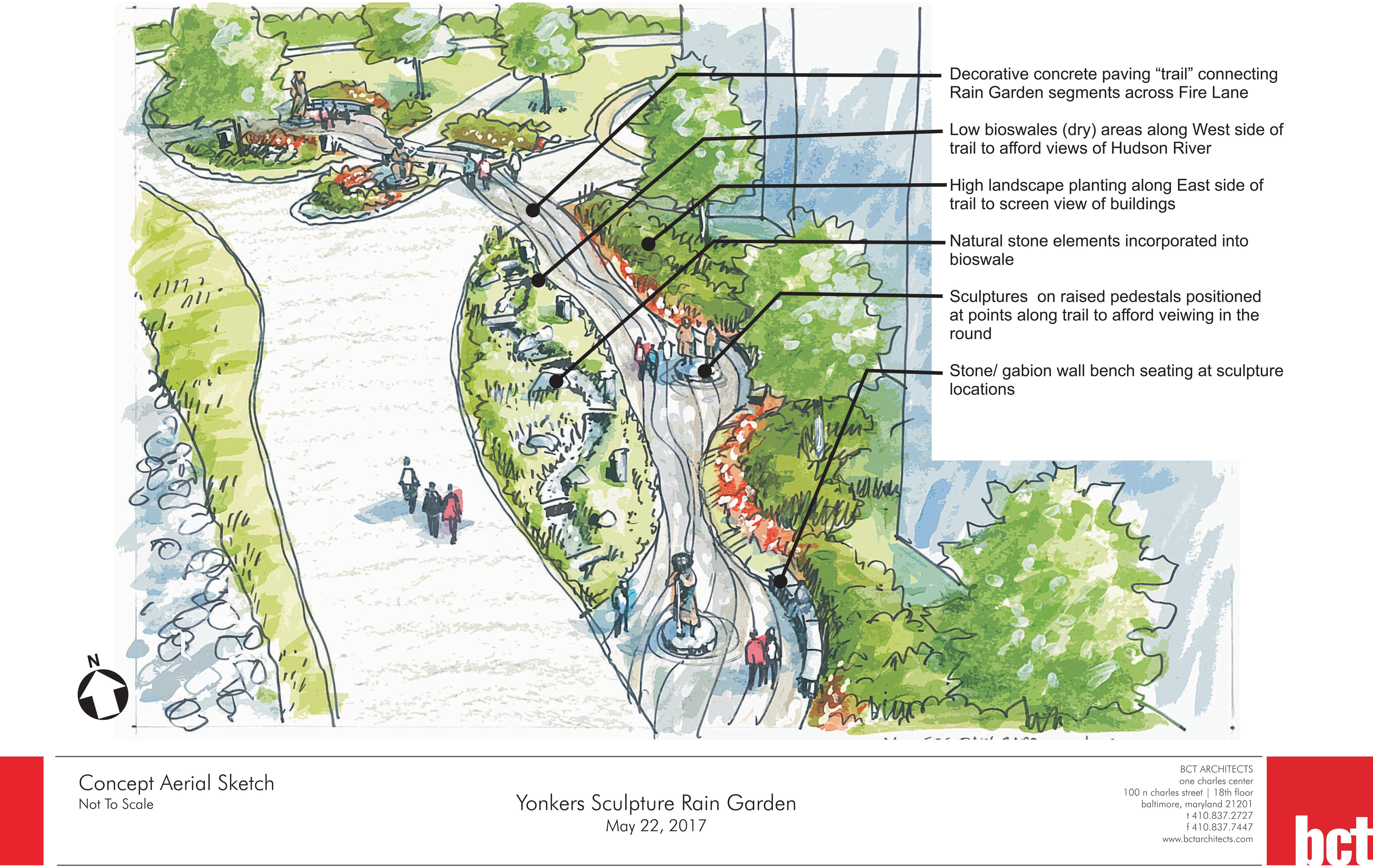 Enslaved Africans Rain Garden Site Plan